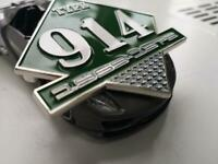 Type Porsche 914 grill badge badge Porsche - fits all houndstooth retro style