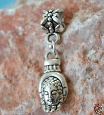 Hamsa Dangle Hand Spiritual Silver European Charm Bead Pendant