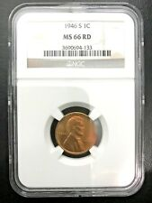 1946-S LINCOLN WHEAT CENTNGC MS66 RD 3690694-133