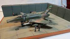 Jagdbomber F-100 hochwertiges Diorama, von S.Borzutsky Sammlermodell Lot:SH15/7