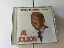Al Jolson : The Worlds Greatest Entertainer CD (2004) MINT 5016073770820