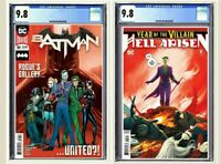 Batman #89 + Year Of The Villain: Hell Arisen #3 CGC 9.8 Graded Second Print Set