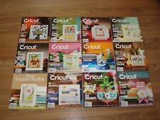 Cricut Magazines Lot # 1