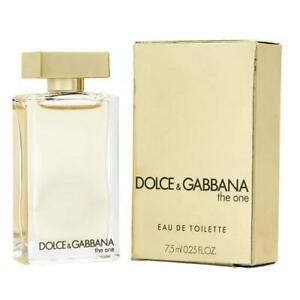 Dolce & Gabbana the one Perfume 0.25 OZ New with box