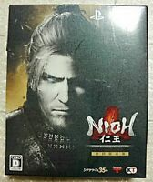 PS4 Nioh Complete Edition with Mini Soundtrack CD Booklet New
