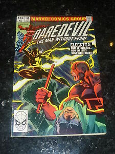DAREDEVIL Comic - Vol 1 - No 168 - Date 01/1981 - MARVEL Comics