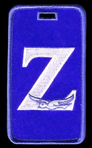 """Zeta Phi Beta """"Zeta with Dove"""" Luggage Tag  L@@K AT THIS!"""