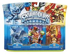 Skylanders Spyros Adventure Giants Whirlwind Double Trouble Drill Sergeant Swap
