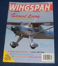 WINGSPAN MAGAZINE FEBRUARY 1996 - 'SILVAIZE' LINING VINTAGE AMERICAN METAL