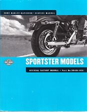 2002 Harley Sportster XL883 XL1200 Service Repair Workshop Shop Manual 99484-02A