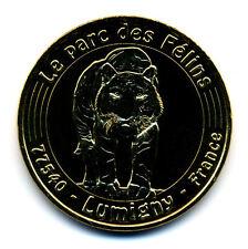 77 LUMIGNY Parc des félins, 2017, Monnaie de Paris