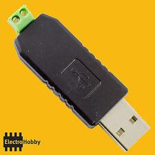 Conversor USB a RS-485 Adaptador W7, Vista, XP, Linux, MacOS, RS 485, Arduino