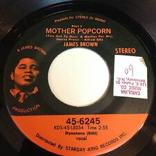 James Brown: Mother Popcorn 45 - King 45-6245 - Funk