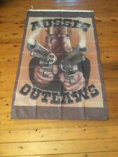 HUGE Ned KELLY mancave pool room flag 5x3 bar flag outlaw biker NED KELLY