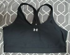 Under Armour Sports Bra Black Large