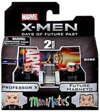 X Men Marvel Professor X und Future Magneto Minimates Action-Figur Diamond