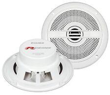 RENEGADE RXM62 Lautsprecher Marine Boot Yacht Bad Sauna weiße Boxen Lautsprecher