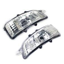 Left&Right Wing Mirror Turn Indicator Light Cover For Volvo S40 V50 C30 S60 V70