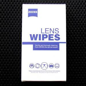 Zeiss Pre-Moistened Lens wipes 10 pcs Glasses Camera Phone Cleaning