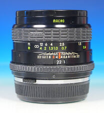 Sigma mini-wide 2.8/28mm objetivamente lens objectif for para Olympus OM - (43862)