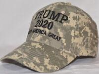 DONALD TRUMP 2020 Digital CAMO HAT Keep America Great NEW A