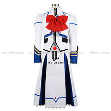 Magical Girl Lyrical Nanoha Nanoha Takamachi Uniform Cosplay Costume Cos Clothes