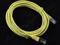 Neuf 3M Mètre Jaune CAT5 Réseau Ethernet Lan RJ45 Brassage Câble