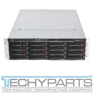 """Supermicro CSE-836BE16-R1K28B 3U Server Chassis 2x1280W 16x 3.5"""" BPN-SAS2-836EL1"""