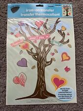"""Iron-On Transfer Sheet 1p Fabric Crafts 8.5""""x11"""" Happiness Doesn't Grow On Trees"""