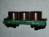 Mantua HO Scale Central Pacific Railroad Water Car Green