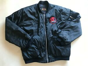 Vintage 80s NORWOOD REDLEGS SANFL Flying Jacket Rain Coat  Size XXL AFL