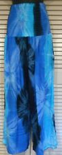 Plus size wide leg wide elastic waist Harem, hippy, boho comfy Pants Fit 16-24