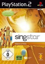 Playstation 2 SINGSTAR MALLORCA PARTY Neuwertig