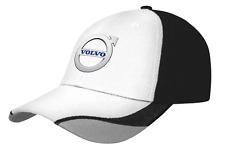 Volvo Truck Black and white Contour cap with Volvo logo