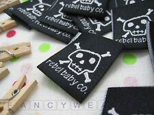 Custom woven label / 200pcs / Fabric / Clothing / Accessories / Brand Label
