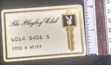 1960s Playboy Club  Membership Card
