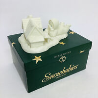 "Vintage Dept. 56 Snowbabies - ""LIGHT IT UP"" Christmas NIB"