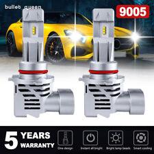 9005 9145 LED Headlight Kit 120W 24000LM High Low Fog Bulbs HB3 H10 6000K White