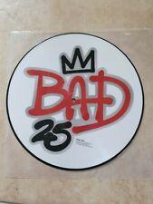 Michael Jackson: LP BAD 25 th LTD picture DISC : édition Europe 2012