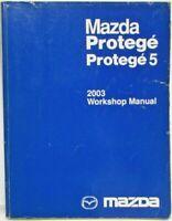 2003 Mazda Protege/Protege 5 Service Shop Repair Manual