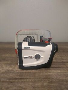 Bushnell Tour V4 Laser golf Rangefinder  White very good condition