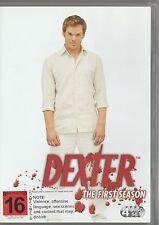DEXTER Season 1 DVD ***VERY GOOD*** (Michael C. Hall, Jeff Lindsay) 4 disc set