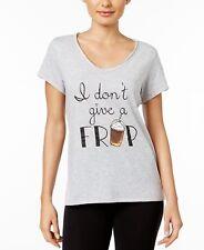 Jennifer Moore Graphic-Print Pajama Top Grey XS