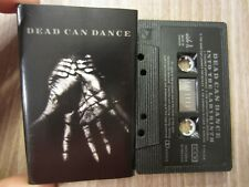 "DEAD CAN DANCE '93 canadian 4AD cassette ""INTO THE LABYRINTH"" tested TAPE EXC."