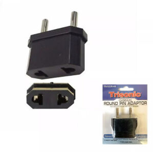 Overseas Round Pin Adapter Power Changer Adapter Converter Used For Most Devices