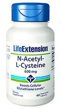 3X $9.88 Life Extension N-Acetyl-L-Cysteine Glutathione Antioxidant Lung Liver