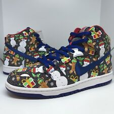 *SPECIAL BOX* Concepts X Nike Ugly Christmas Sweater Dunk High Size 9