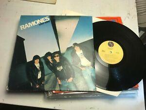 The Ramones Leave Home LP 1977 Sire 1ST US W/Carbona Non Colle Uncensored Rare