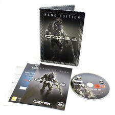 Crysis 2 Nano Edition Steelbook for PC DVD-ROM by Crytek, 2011, Shooter, Stealth