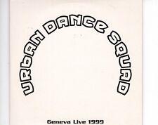 CD URBAN DANCE SQUADgeneva live 1999 - promo CARDSLEEVE EX (A1133)